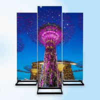 LED Video Infostele Outdoor Plus