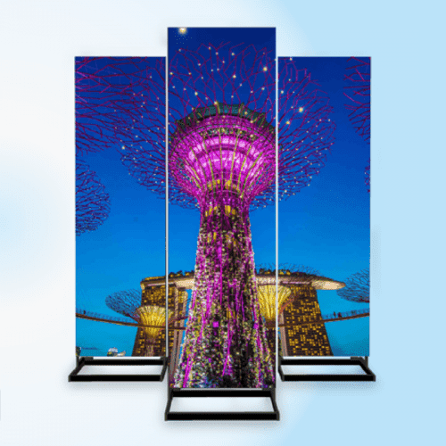 LED Video Infostele Outdoor