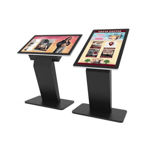 All-in-one Touchscreen-Kiosk 43 Zoll inkl. Content Management System Software