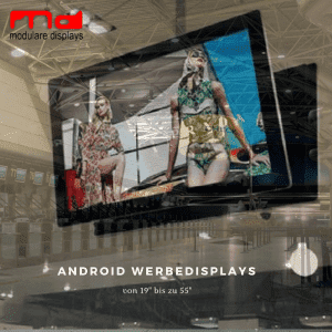 19 Zoll Android Werbedisplay