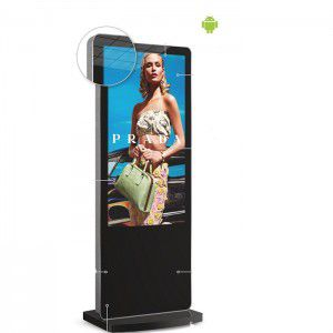 "Digitale Infostele mit 50"" Android Media Player"