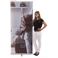 RollUp Banner Basic 80x200 mit Digitaldruck