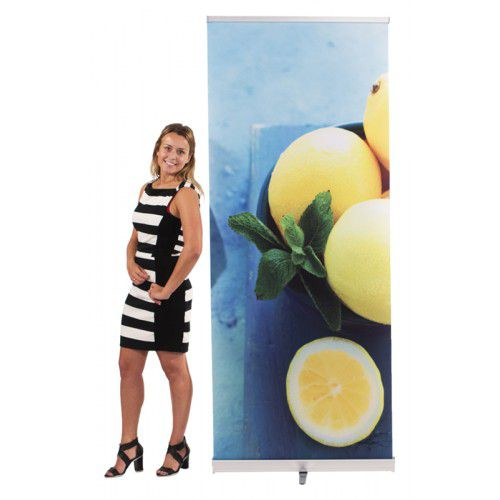 RollUp Banner Evolution 850x220 mit Digitaldruck