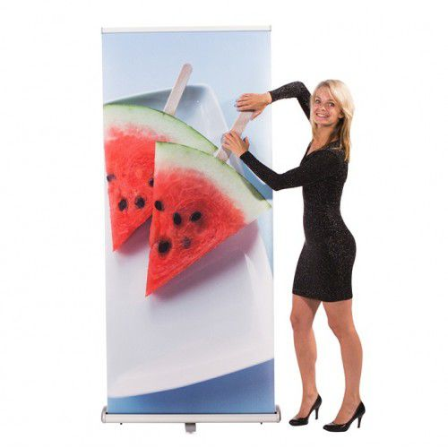 RollUp Banner Triangle 850 mit Digitaldruck