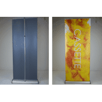 Bannerdisplay Cassette R 850mm