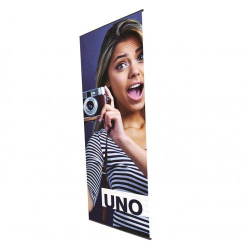 Bannerdisplay Uno inkl. Digitaldruck 800 mm