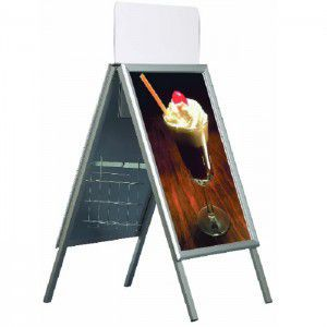 Kundenstopper Classic Outdoor DIN A1