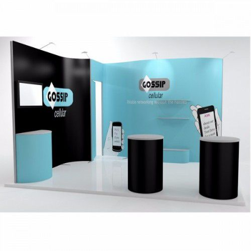 ISOFrame Wave Messestand 3x4m