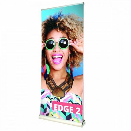 Doppelseitiges Rollup Bannerdisplay Edge 1000mm