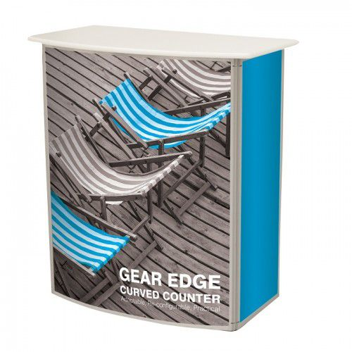 Gebogene Messetheke Gear Edge