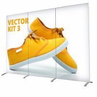 Vector Textil Messedisplay Kit 3