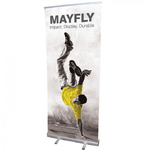 Mayfly RollUp Bannerdisplay 850 mit Digitaldruck