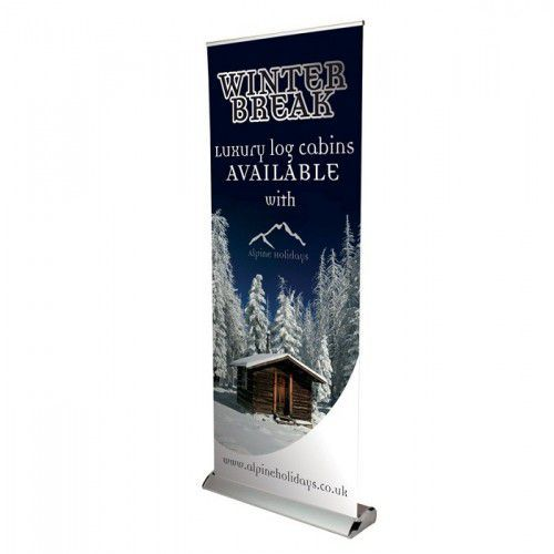 Roll-Up Banner Delta 85 cm
