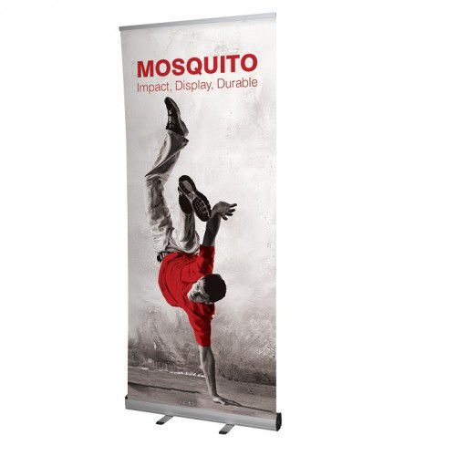 Roll-Up Banner Mosquito 850mm, inkl. Bannerdruck