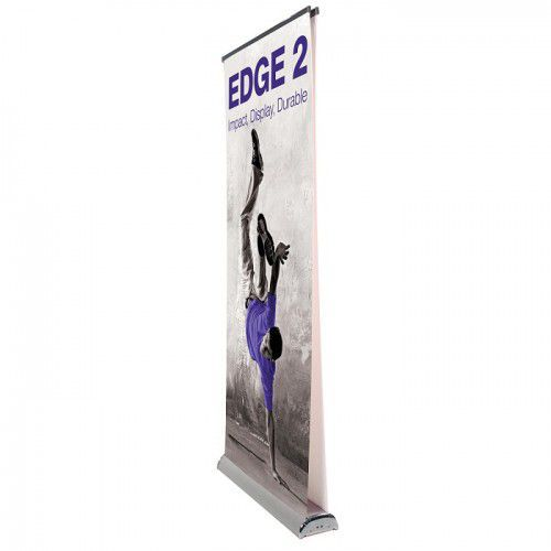 Doppelseitiges Rollup Bannerdisplay Edge 850mm