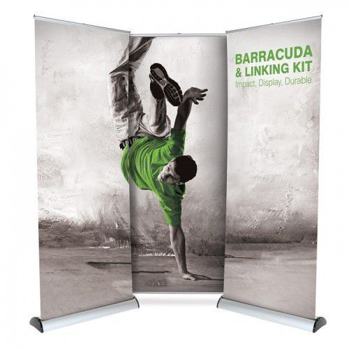 Roll-Up Banner Barracuda 100cm