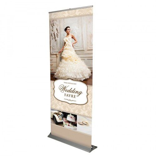 Roll-Up Banner Blade 100cm inkl. Digitaldruck