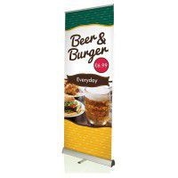 Roll-Up Banner Eco 800mm, inkl. Bannerdruck