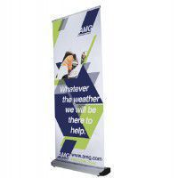 Roll-Up System Cassette R 100cm inkl. Digitaldruck