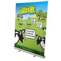 RollUp Banner Mosquito 120cm