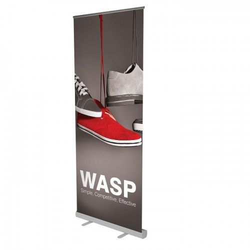 RollUp Banner Wasp inkl. Digitaldruck