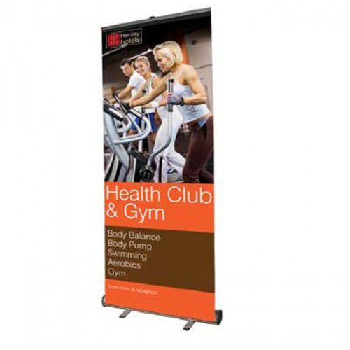Roll-Up Bannerdisplay Start 1000mmt mit Digitaldruck