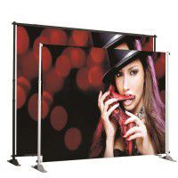 Jumbo Bannerdisplay mit Digitaldruck