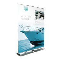 Mobiles Bannerdisplay Stealth 160 x 200cm inkl. Digitaldruck