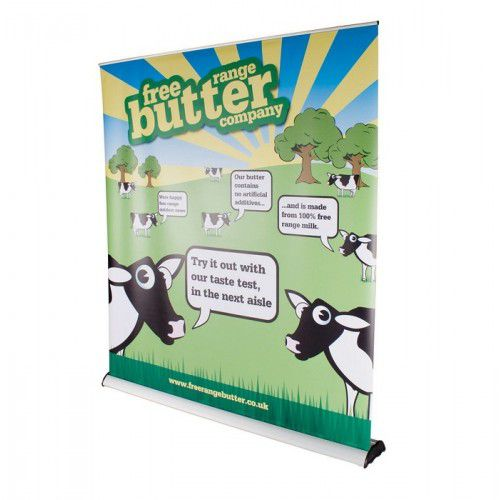 Roll-Up Banner Original + inkl. Digitaldruck 150mm