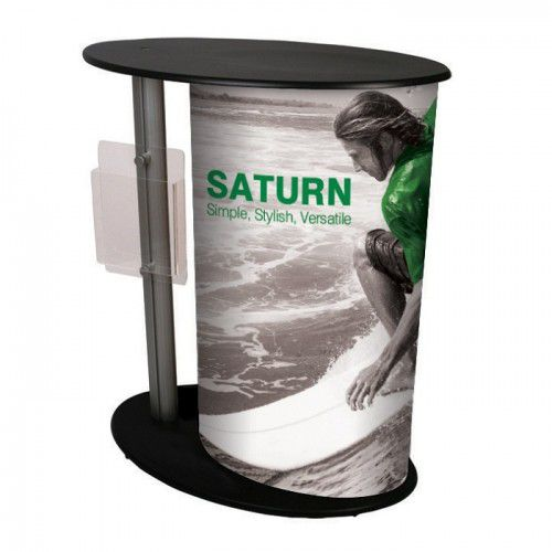 Promotiontheke Saturn inkl. Grafikmantel