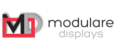 MODULARE DISPLAYS mobile Messedisplays mit Digitaldruck